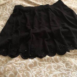 NEW black flared skater skirt ShEIN sz 3xl